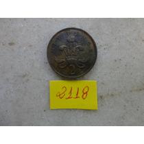 M - 2118 - Moeda Inglaterra 2 New Pence!!!