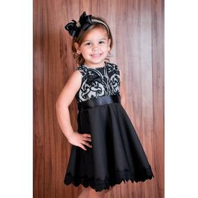 Vestido Infantil Festa, Aniversário Renda Festa 1 A 8anos