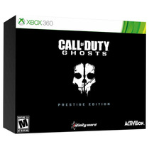 Call Of Duty: Ghosts Prestige Edition Xbox 360 Câmera Tática