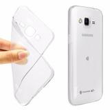 Capinha Tpu Celular Samsung Galaxy J5 J500 + Pelicula Vidro