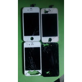 Tela Iphone 4 E 4s Branco Com Touch Trincado