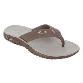 Chinelo Masculino Oakley Rest Plus Marrom