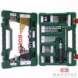 Kit Para Furadeira/parafusadeira V-line 91pcs Titanio Bosch