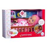 Muñeca Little Mommy Hora De Dormir Mattel Luces Sonidos