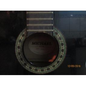 Violão Acústico Michael Usado, C/defeitos, Necessita Reparos