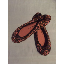 Zapatos Ballerinas Chinitas Mujer Leopardo Numero 38-39