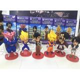 Dragon Ball Z Figuras Muñecos Set X6 Wcf Dwc Saga Buu