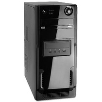 Pc Cpu Dual Core 4gb Hd 160gb Com Garantia Gabinete Novo