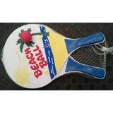 Raquetas Para Playa Y Pelota Juego