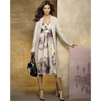 Vestido De Seda Con Diseño Floral Dpa
