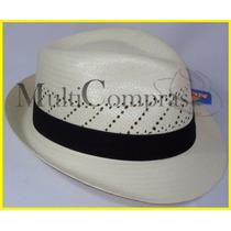 Elegante Sombrero Borsalino Vogue Color Natural Morcon Toyo