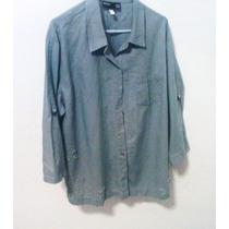 Camisa Flores Estampada Vintage 80s T-2x Rock,nice, Hipie
