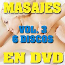 Dvd Masajes Vol Tres, Linfatico, Facial, Envio Gratis