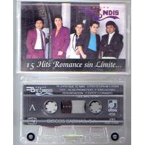 Audio Cassette Grupo Brindys 15 Hits Romanticos Sin Limite