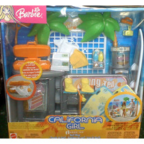 California Girls Set De Muebles Y Accesorios Para Barbie