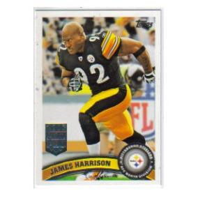 2011 Topps #138 James Harrison Acereros De Pittsburgh