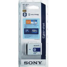 Bateria Sony Np Bd1 Original Nueva En Blister Pila Cybershot