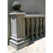 Pedestales Columnas Barandas Y Balaustres De Cemento