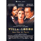 Dvd - Villa Lobos - Uma Vida De Paixão (+ Cd Trilha Sonora)