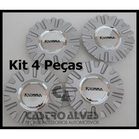 Kit 5 Pçs Calota Roda Kr1560 Devine Kromma Aro 14|15|17|20