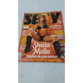 Revista Sexi,capa Sheila Mello