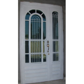 Precios de puertas de herreria en mercado libre m xico for Puerta zaguan aluminio