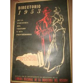 Directorio 1953 De La Industria Del Vestido Y Proveedores Mx