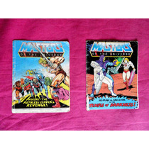 Revista Masters Of The Universe He Man Anos 80 - Mattel Usa