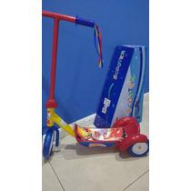 Monopatin Tres Ruedas.cars Ben 10 Minions Mickey Toy Story