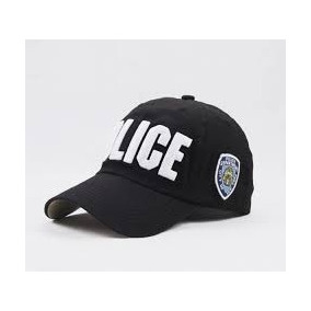 Boné De Beisebol Unissex Ajustável Police