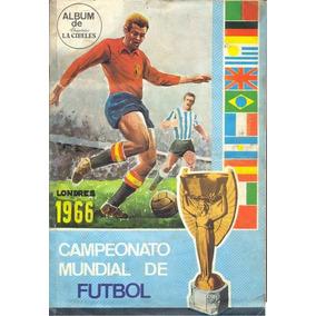 Álbum Da Copa Do Mundo De 1966 La Cibeles - Scaner