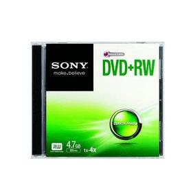 Dvd+r Doble Lado Sony 8gb/go 215m. 2.4x-8x Estuche Sellado!!