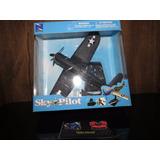 Perudiecast Avión Scout 4 - Sky Pilot - New Ray Escala 1:72