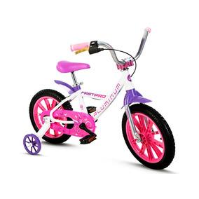 Bicicleta Infantil Aro 14 Feminina Aluminio Frete Grátis Nat