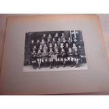 Grupo Escolar 1926 Fotografia Antigua Belgica Europa Francia