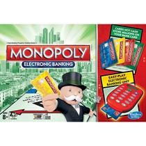 Juego De Mesa Hasbro Monopoly Electronic - Blanco
