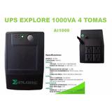 Ups Explore Power 1000va 4 Tomas Ai1000