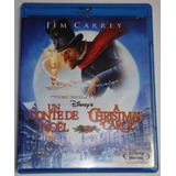 Película Bluray A Christmas Carol Original Usada Jim Carrey