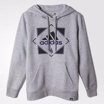 Poleron Con Capucha Hombre Adidas Original Y Nuevo