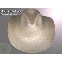 Sombrero Americano Palma De Guano Económico
