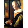 Oleo Sobre Bastidor - Reproducción - Versión Libre Vermeer