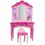 Brinquedo Barbie Penteadeira Filme Centro De Comando Cdy64