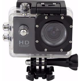 Câmera Filmadora Hd 1080p Sport Stand Up Prova Dagua