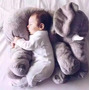 Bebê Travesseiro Elefante Almofada Pelúcia Enxoval 60cm