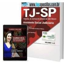 Apostila E Curso Online Tj-sp 2017 - Assistente Social Jud