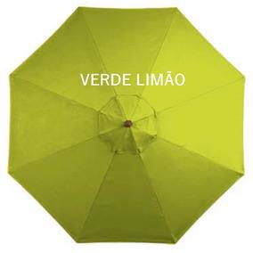 Ombrelone Lateral Quadrado Girat. Floreira Verde L.2x2 Sm-06