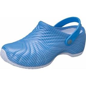 Calzado Dickies Clínico Anti Derrapante Super Cómodo Azul Cr