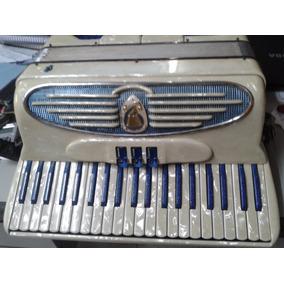 Acordeon Giuliete Amplificado 120 Baixos Reduzido