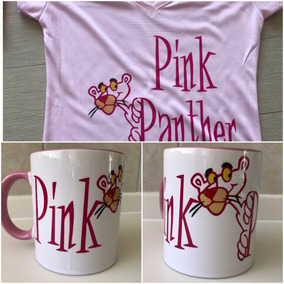 Pkt Pink Panther Playera Y Taza La Pantera Rosa