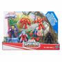 Playskool Super Hero Adventures Esquadrão Da Selva 6 Bonecos